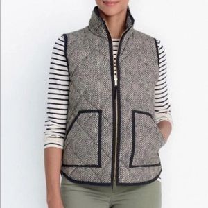 JCrew polyester vest